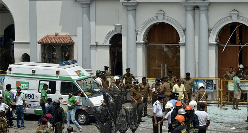 Death toll for Easter blasts at Sri Lanka reaches at least 207 -- including many Americans