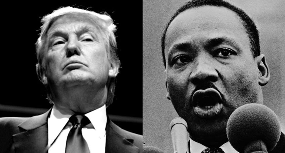 Historian explains the many reasons Martin Luther King Jr. would be appalled by Donald Trump