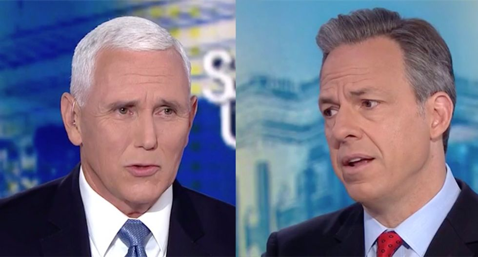 CNN's Jake Tapper confronts Mike Pence with defense official calling Trump a liar over aborted Iran attack excuses