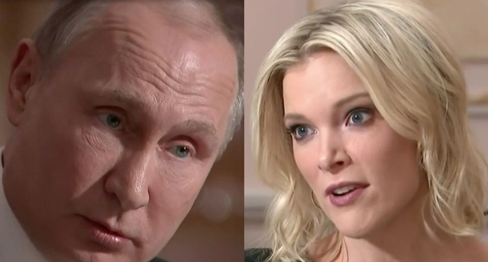 WATCH: Russian president Vladimir Putin assails American 'propagandists' during interview with NBC's Megyn Kelly