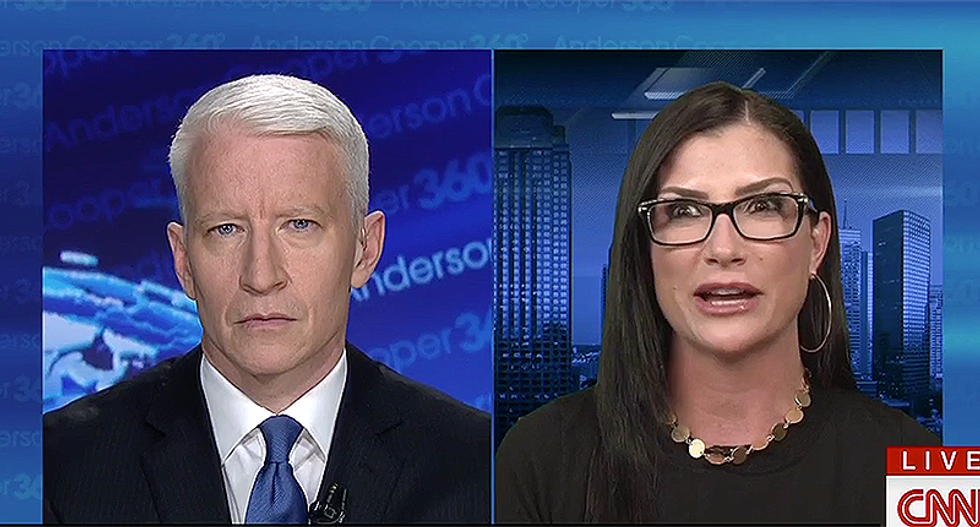 WATCH: NRA's Dana Loesch dodges Anderson Cooper's questions as he asks if she feels 'betrayed' by Trump on guns