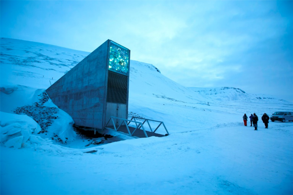 'Doomsday' seed vault gets structural makeover as climate change heats up Arctic