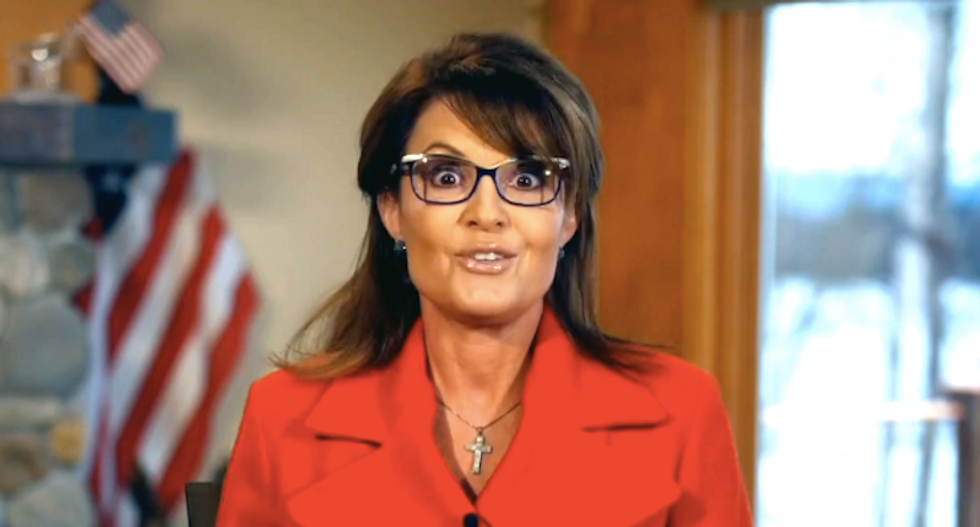 Watch Sarah Palin push a Koch-backed scheme to kill the VA and replace it with vouchers
