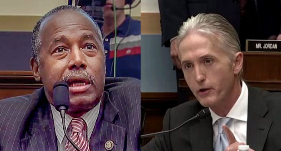 GOP Rep. Trey Gowdy demands answers on Ben Carson's $31k dining set — paid for with taxpayer money