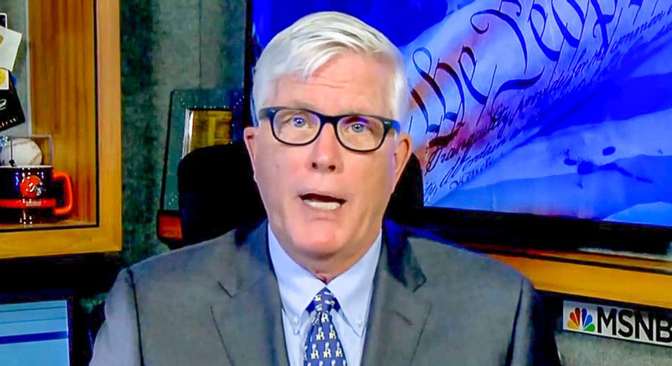 Hugh Hewitt claims Trump just forgot to fly flag at half staff for McCain: 'It's an egregious oversight'