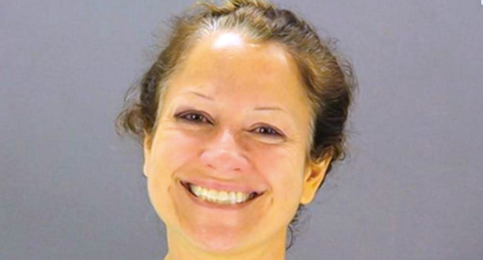 Texas woman smiles with pride after setting fire to yoga studio to 'get rid of the devil's temple'