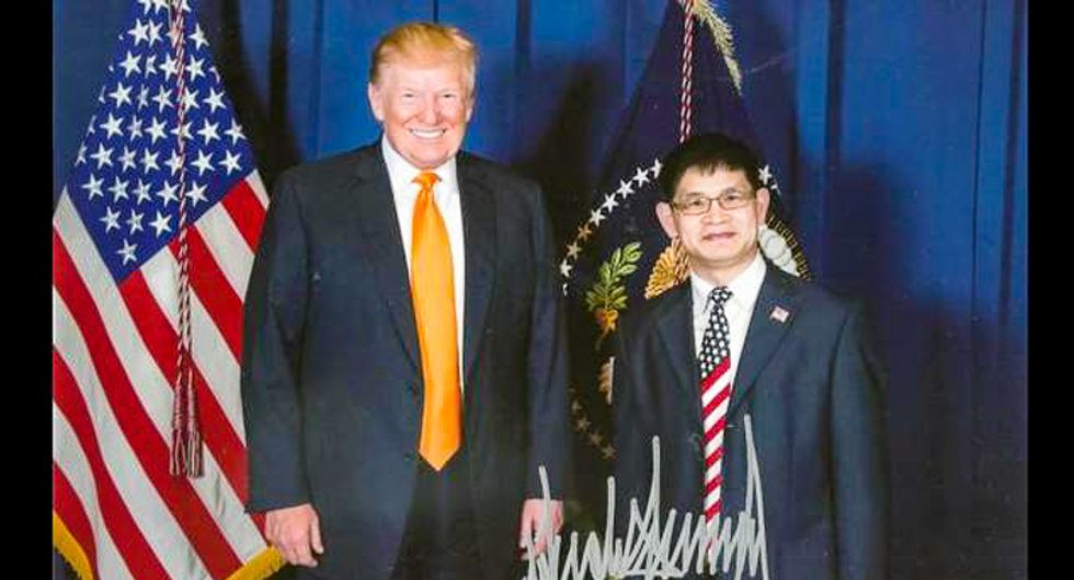 EXPOSED: Chinese Communist Party promoter joins Trump campaign with help of illicit massage parlor founder