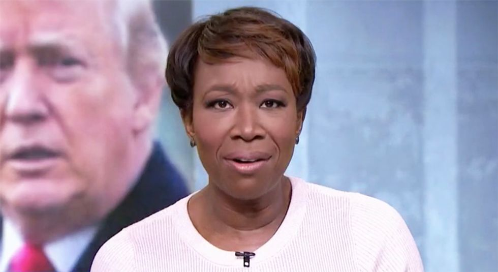 MSNBC's Joy Reid names every Trump-loving evangelical leader who refused to take her call on Trump's 'chosen one' claim