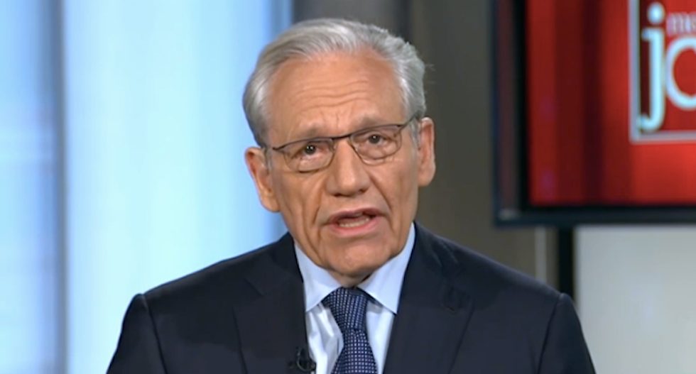 Watergate's Bob Woodward: Trump is too stupid to have organized a conspiracy with Russia