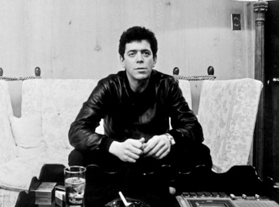 'Do Angels Need Haircuts?' - Lou Reed poems after leaving Velvet Underground set for book