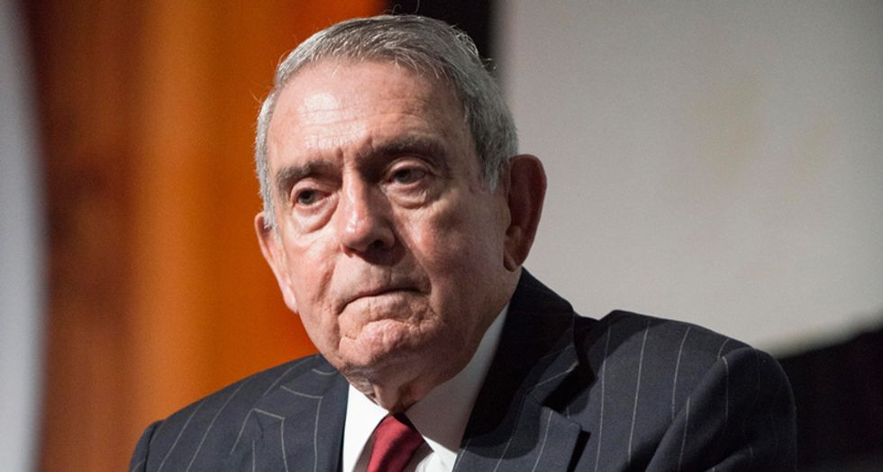 'He is a threat': Dan Rather warns Americans of Trump's 'power to decimate and destroy'