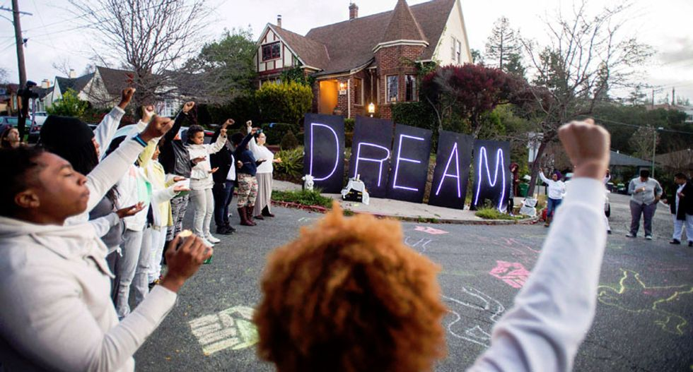 Tributes and protests mark Martin Luther King Jr. Day