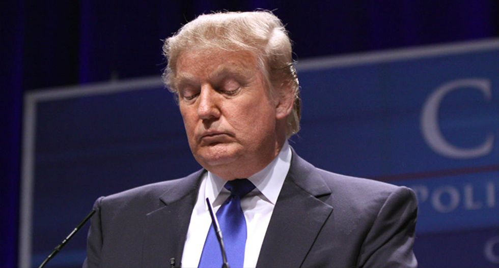 Trump's own Justice Dept publicly debunks his conspiracy theory about leaked DNC emails