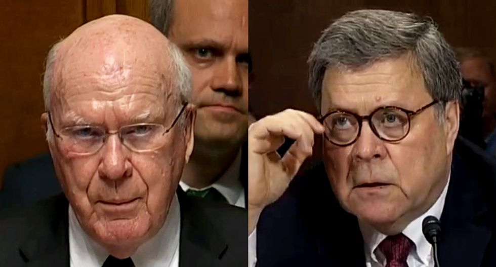 Bill Barr gets cornered for misleading Congress about Mueller's concerns -- and offers a dubious excuse