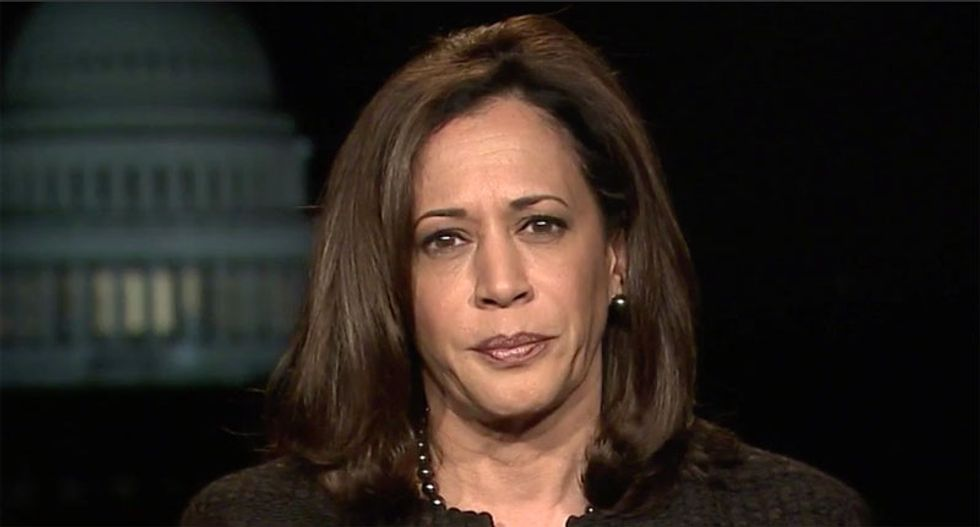 Suspicious packages at local office for Sen. Kamala Harris not dangerous: police