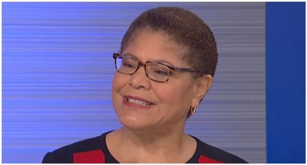 Trump is trying to stay in power so he can stay out of jail: Congresswoman Karen Bass
