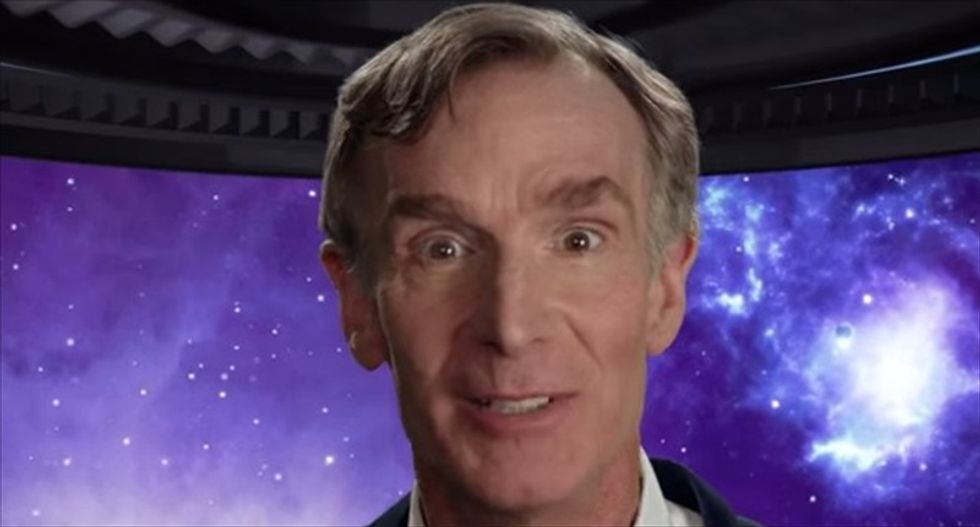 Bill Nye and Amy Schumer mock your friend who says an empty parking space is a sign from 'the universe'