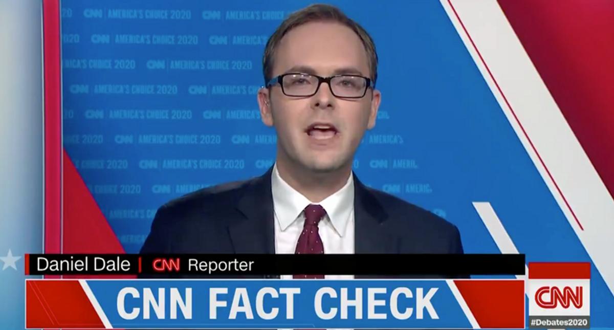 'Completely imaginary': CNN fact checker busts GOP claims that Biden will ban hamburgers
