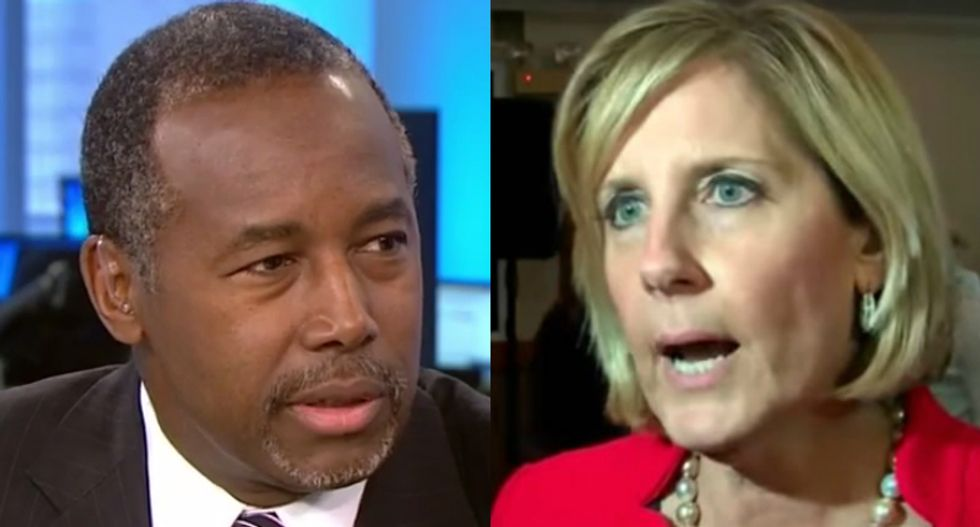 Trump-loving congresswoman blames Ben Carson's $31K dining set scandal on the 'deep state'