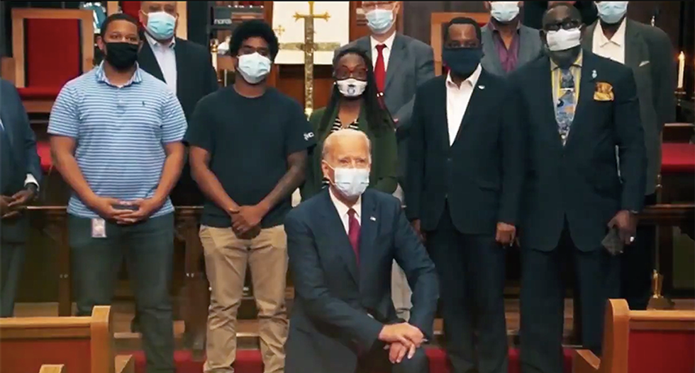Black church leaders are furious at Donald Trump and are demanding an apology after anti-Biden attack ad