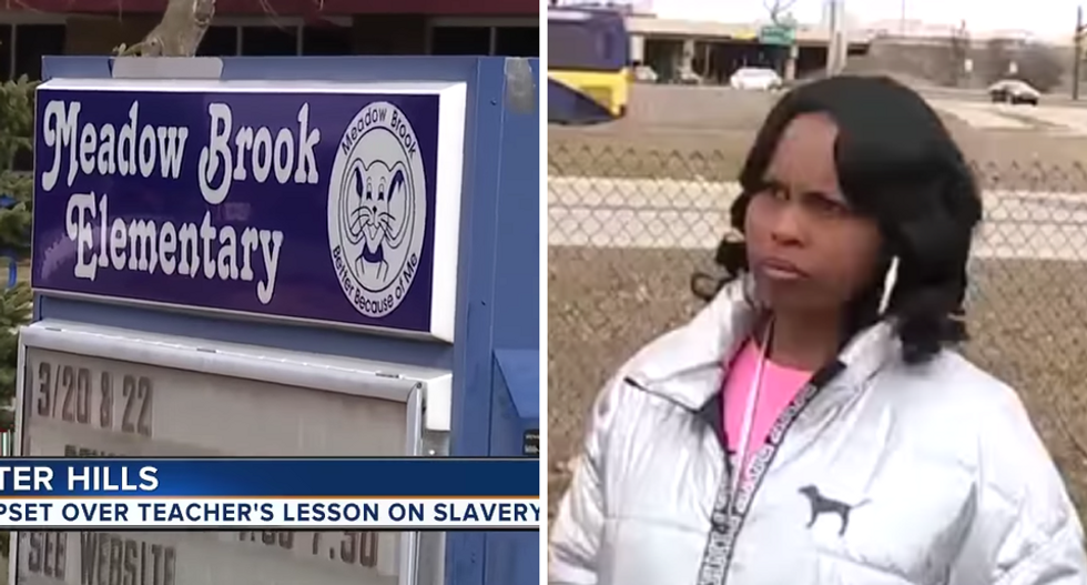 Black students forced to endure 'jokes' from classmates and teacher during activity about 'uncomfortable' slave ships