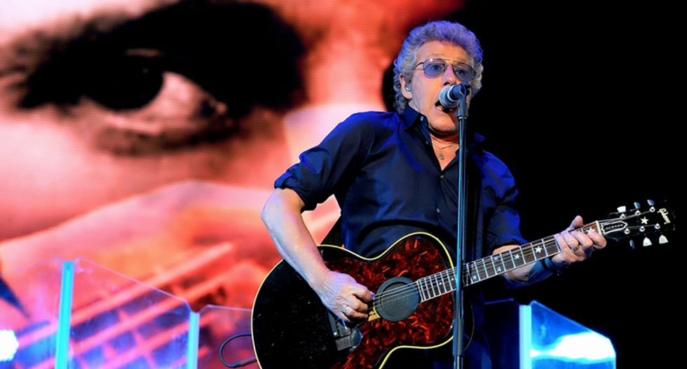 'The Who' singer goes off on pot smokers during NYC concert