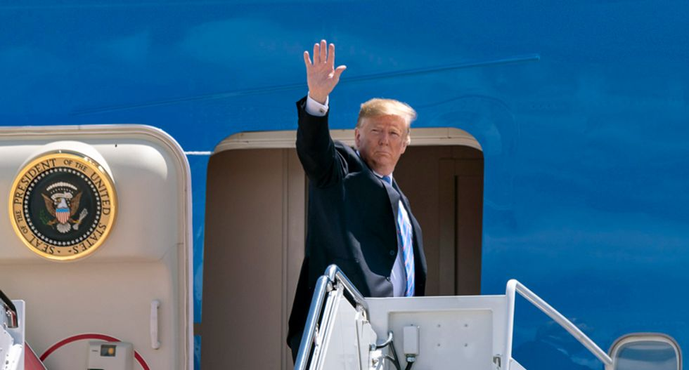 Trump ignores stalled COVID stimulus negotiations — as he starts three-day vacation at golf course