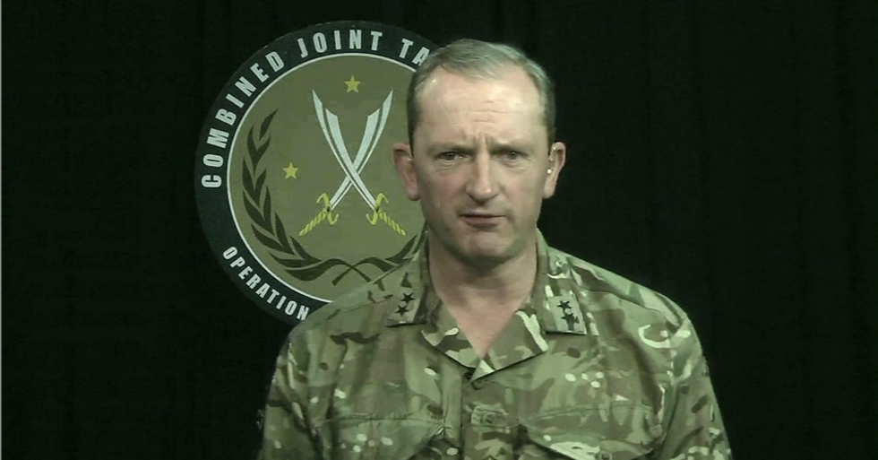 British general says there's no evidence of 'increased threat' from Iran -- undermining Trump-Bolton war narrative