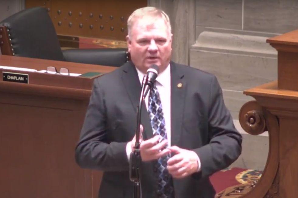 GOP lawmaker stuns colleagues with bizarre speech about 'consensual rape' on Missouri House floor
