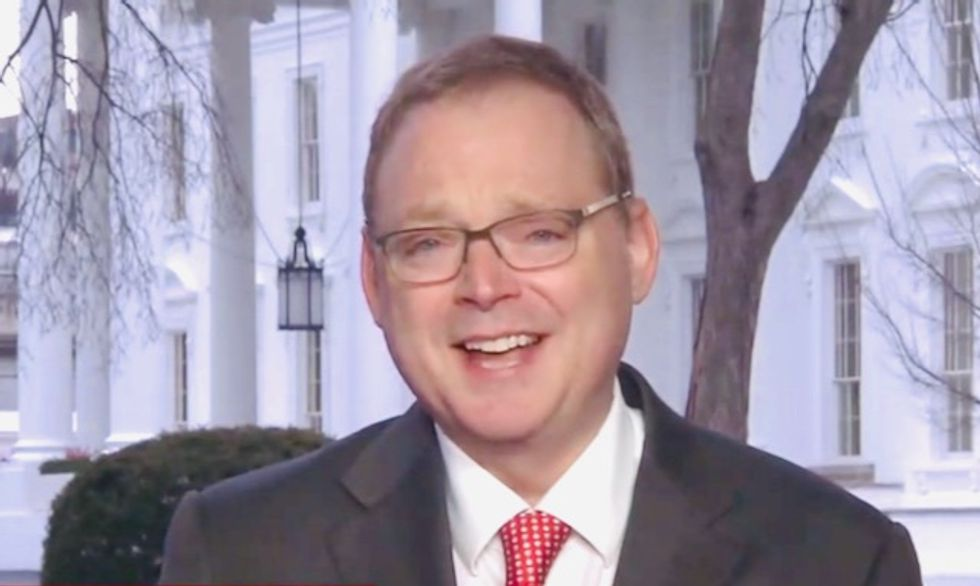 Returning to the White House: Former top Trump economic advisor who called government shutdown a free 'vacation'