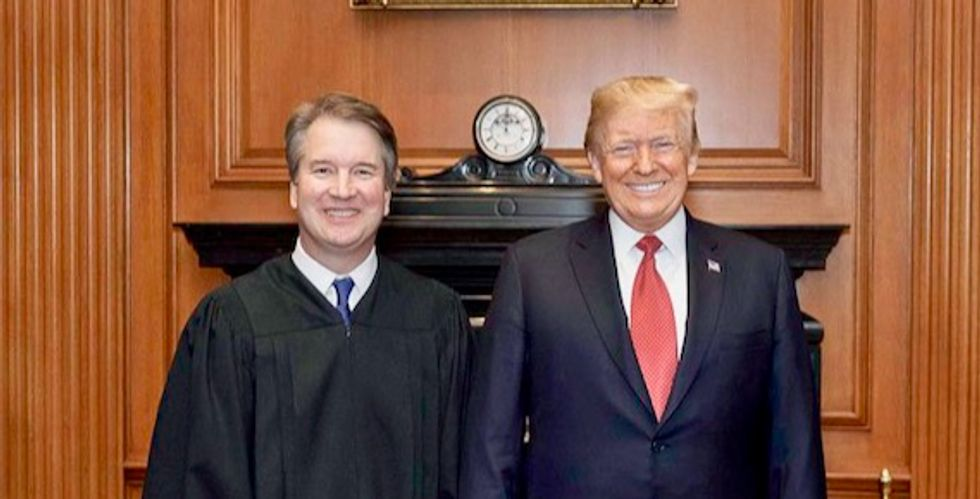 Secretive dark money group got $22 million to get Trump SCOTUS pick confirmed – and most came from one anonymous donor