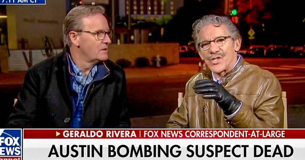 Fox host explains why Austin bomber likely was a conservative targeting 'a dot of deep blue in a sea of red'