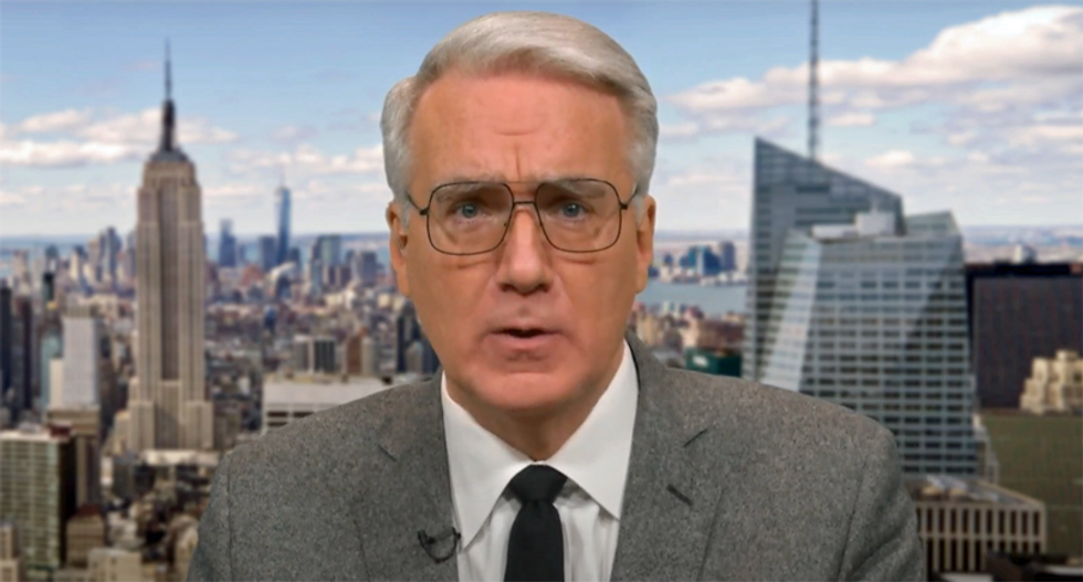 'America is now ruled by a madman': Keith Olbermann debuts new 'Worst Person in the World' video