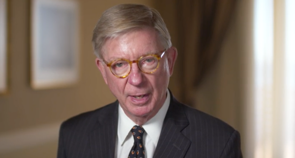 Conservative George Will lays waste to the Republican Party: 'One leader -- and the rest are followers'