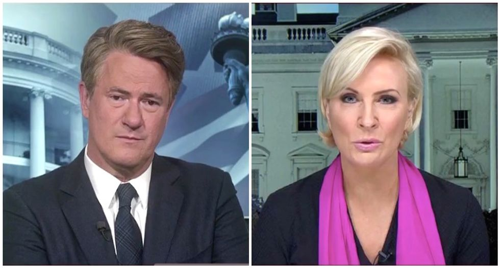 WATCH: MSNBC's Joe and Mika hint that Melania may be close to leaving the White House over Stormy Daniels