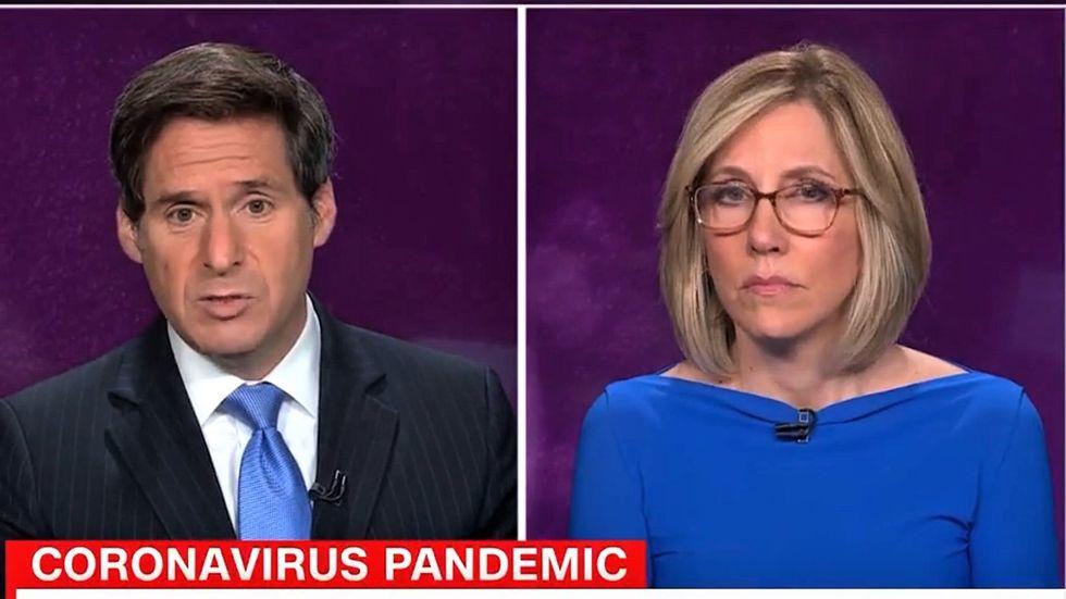 'This isn't funny': CNN hosts shame Trump for praising quack 'alien DNA' doc as COVID deaths hit 150,000