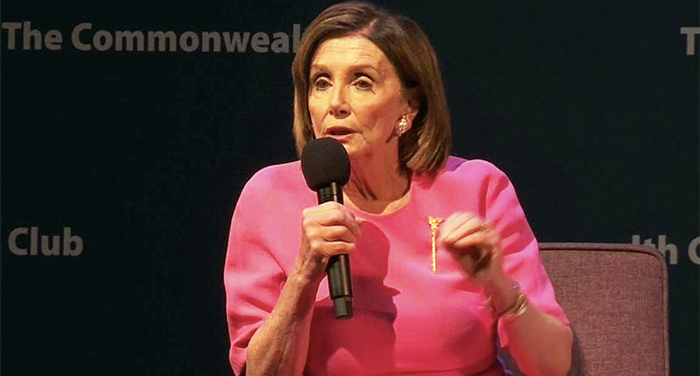 Pelosi just used Melania as an example of Trump's hypocrisy on immigration