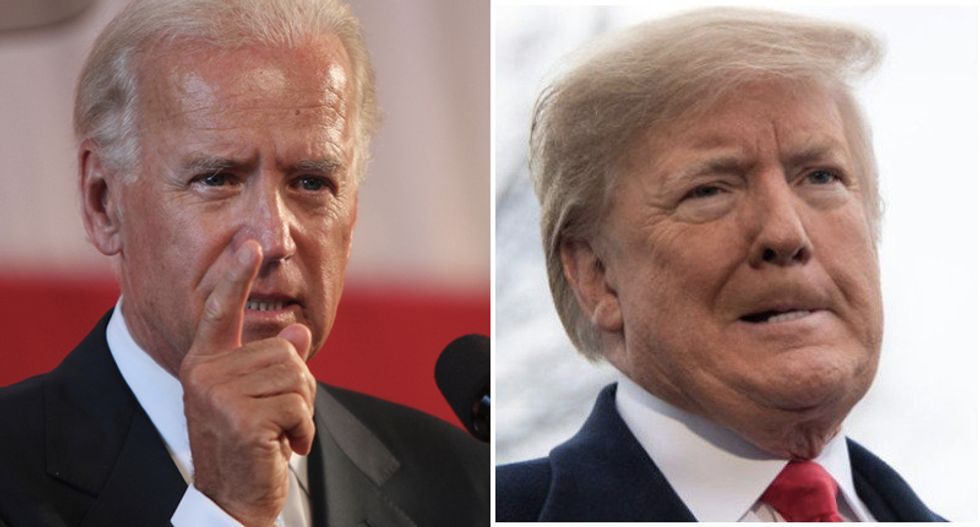 Biden shreds 'divorced from reality' Trump in blistering attack on his racism