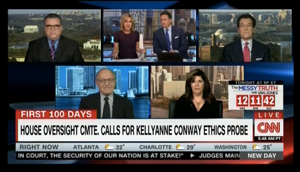 'Wrong, wrong': CNN panelists swat down conservative for saying Conway just 'joking' about Ivanka plug