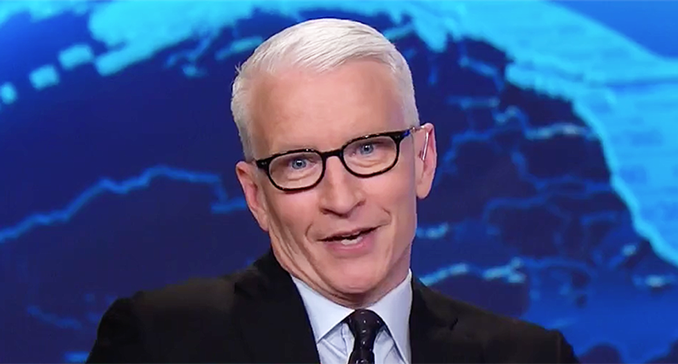 Anderson Cooper issues hilarious rebuke of 'big brains' in Trump's Situation Room that came up with the 'wouldn't' excuse