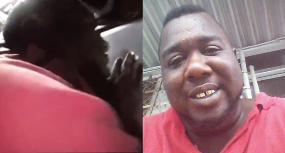 WATCH: Shocking video shows cop who killed Alton Sterling calling him a 'stupid ass motherf*cker' after fatally shooting him