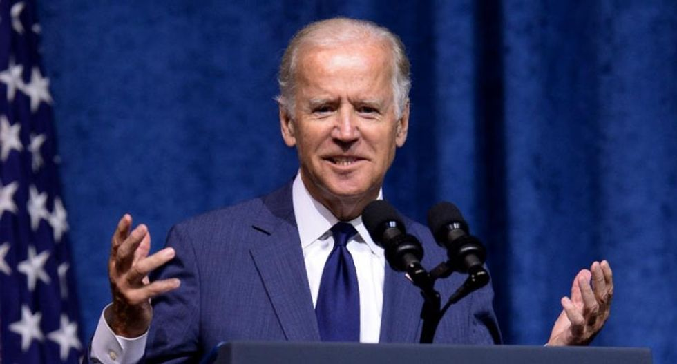 Biden edges past Sanders; Clinton on top but loses ground: poll