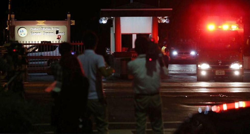 US military depot blast, steel plant blaze hit Tokyo