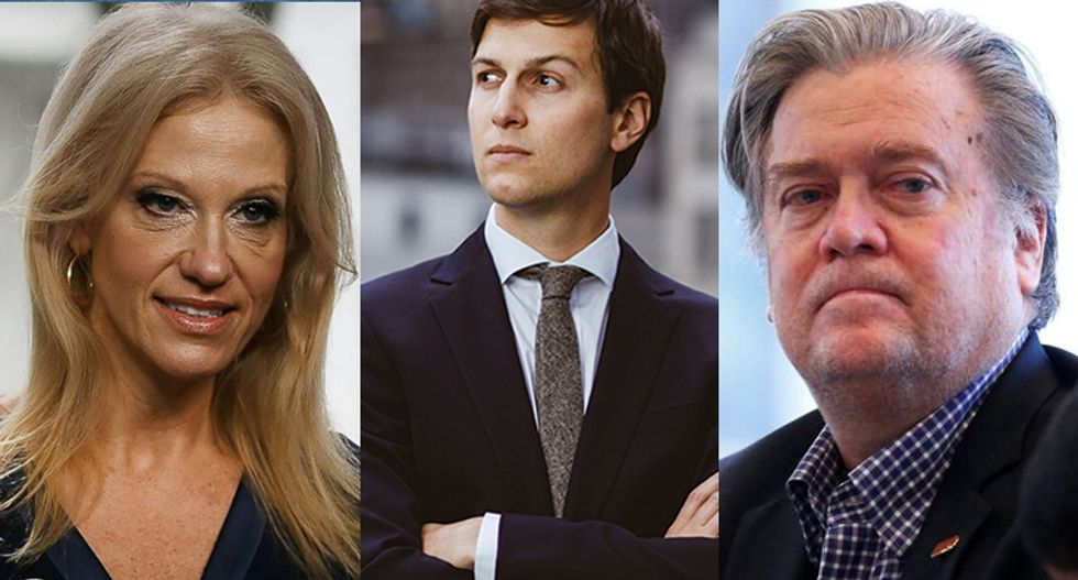 Here are 5 disturbing new revelations about what's really going on inside the chaotic Trump White House