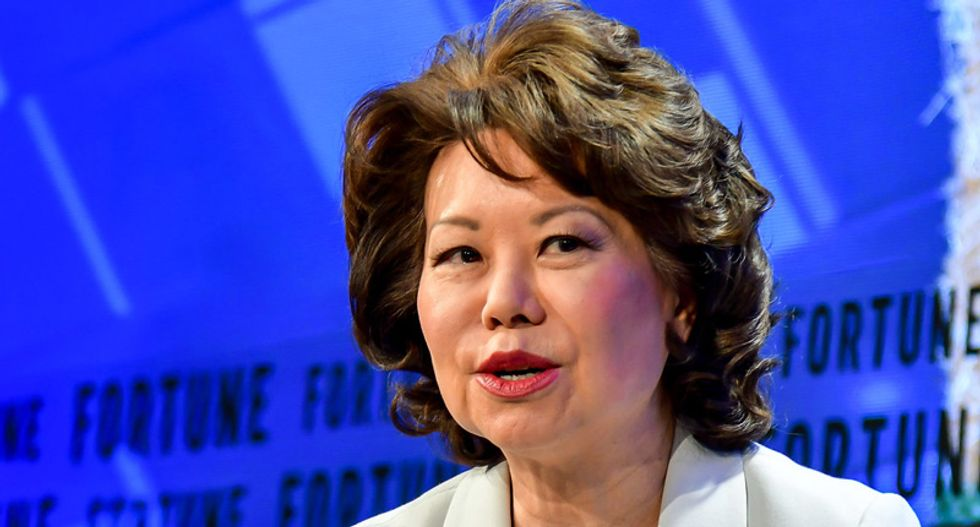 Elaine Chao strongly favored officials from her husband Mitch McConnell's home state in grant meetings