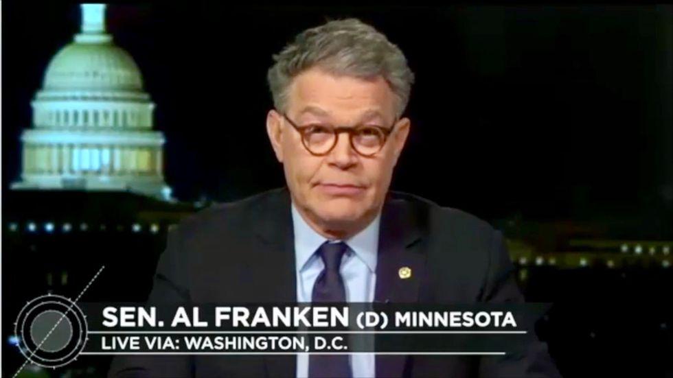 He's 'not right, mentally': Al Franken reveals GOP senators are worried about Trump