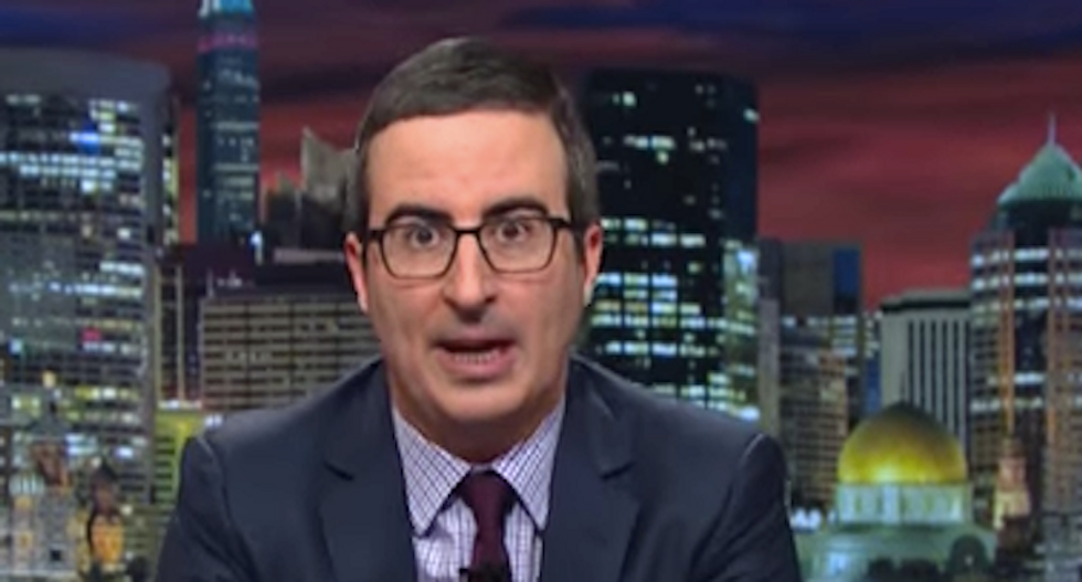 HBO website and comedian John Oliver censored in China