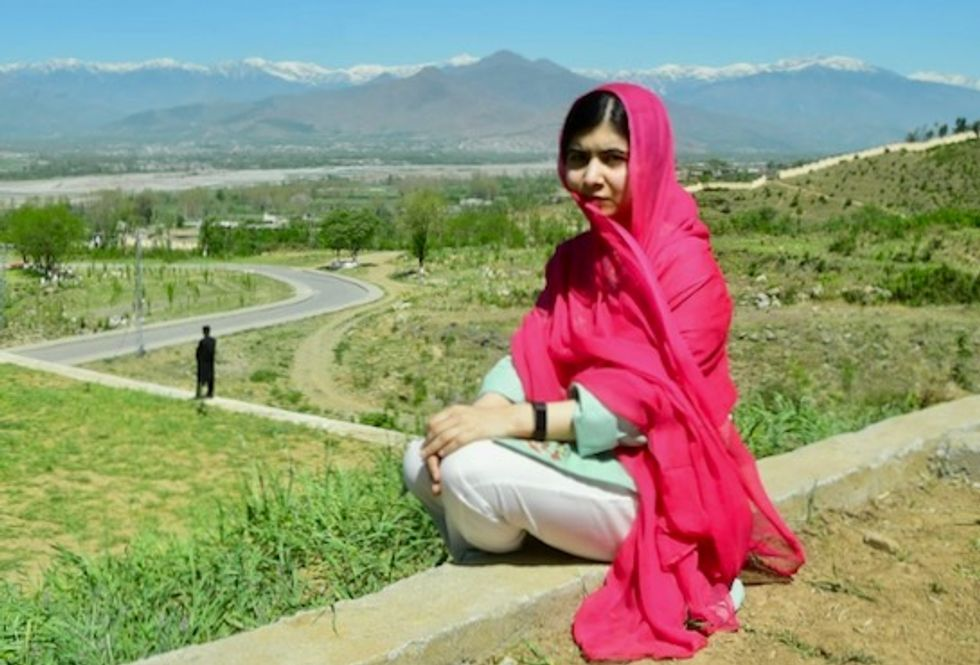 Malala leaves Pakistan after emotional visit