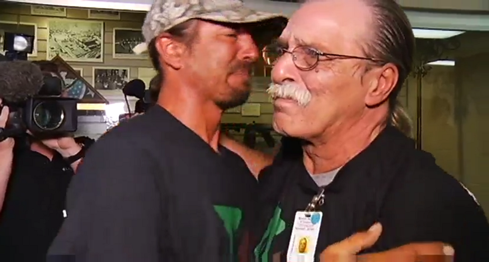 WATCH: Missouri man released from prison after serving 22 years for non-violent pot bust