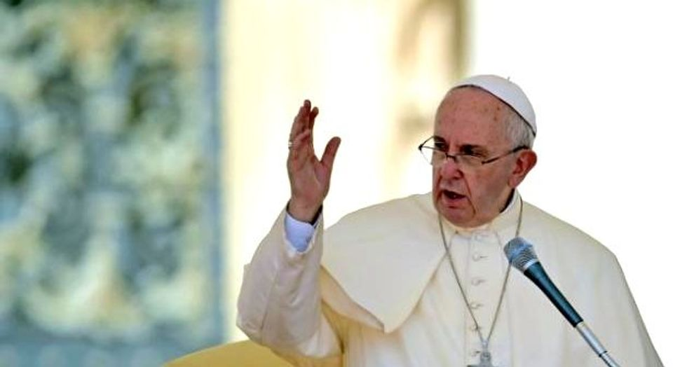 US disrupted threat against pope, says Republican lawmaker